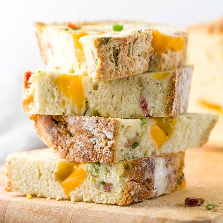 Irish Cheddar & Bacon Soda Bread for St. Patrick's Day   Jessica Gavin