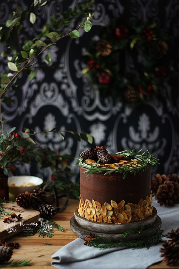 Tarta fácil de chocolate sin gluten #glutenfree #cake #christmascake