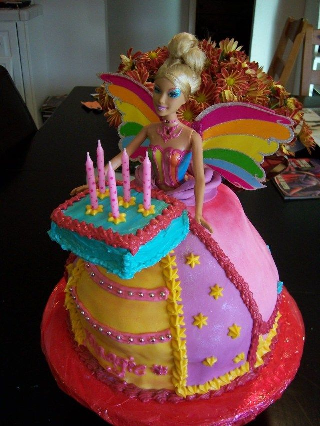24 Inspired Picture Of Happy Birthday Cake Barbie