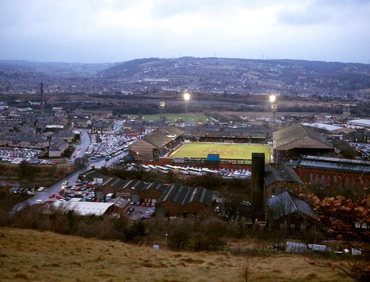 Leeds Road, Huddersfield Town. Photo by Stuart Roy Clarke.