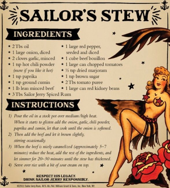 Sailor Jerry Sailor's Stew