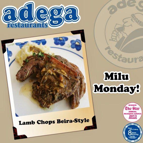 Milu Monday! - Lamb Chops Beira-Style!