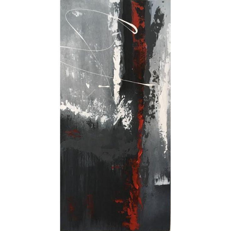 Cette remarquable toile acrylique est agrémentée de texture, ce qui en fait une toile unique.