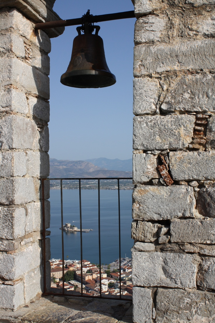 Nafplio, Greece (from the top of the Palimidi)