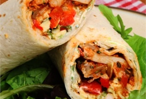 Wrap z kurczakiem / Wrap with chicken  www.winiary.pl
