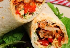 Wrap z kurczakiem / Wrap with chicken  www.winiary.pl