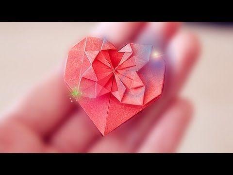 HEART 折り紙 (Tutorial)