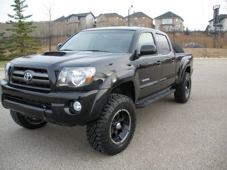 The #Toyota Tacoma has become an unbreakable thing of legend (that is, unless you're rust on a late-year model's frame). There's also the famous Top Gear UK scene where the Hilux (European) version is put through every kind of hell then submerged in high tide only to start up and run again. It's a pretty resilient mid-size truck but when it's armed with Helo Wheels and other off road goodies, it gets even better.