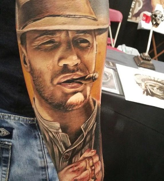 Amazing forrest tattoo