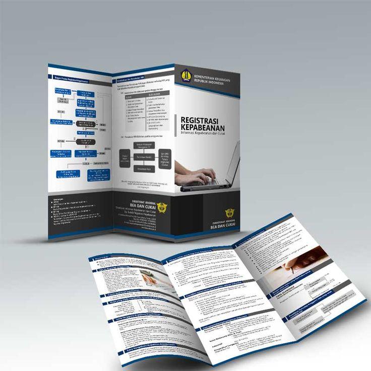 Desain Brosur Direktorat Jenderal Bea dan Cukai Kementerian Keuangan Republik Indonesia oleh www.SimpleStudioOnline.com | Order desain brosur profesional >> WA : 0813-8650-8696
