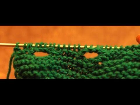 Как связать петли для пуговиц спицами
