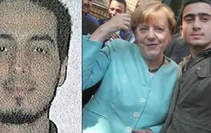 Total Confusion: Did Merkel Take a Selfie With Brussels Attack Suspect? Sputnik News, March 26, 2016, via Ben Fulford. ~A photo depicting German Chancellor Angela Merkel taking a selfie with a man allegedly resembling Brussels bomber Najim Laachraoui has gone viral.