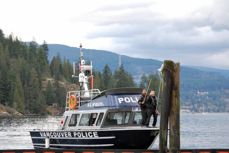 Two members of Vancouver's Marine Unit were able to rescue a seagull that was stuck on a post. Just an average day at work on the water!