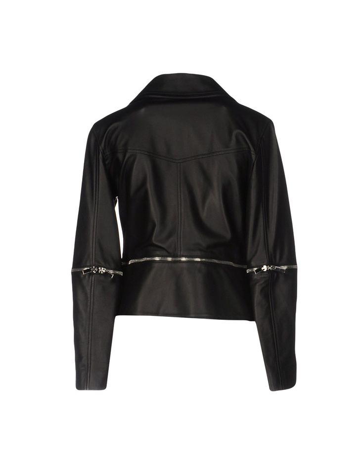 Christopher Kane Кожаная Куртка Для Женщин - Кожаные Куртки Christopher Kane на YOOX - 41684841WX