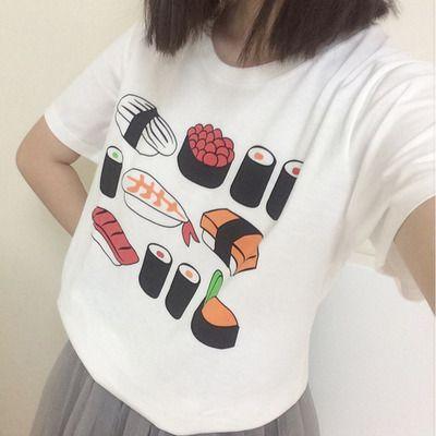 Kawaii sushi tee