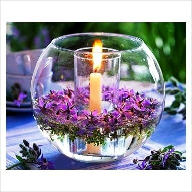 Elegant Table Centerpiece for Weddings or Dinner Parties