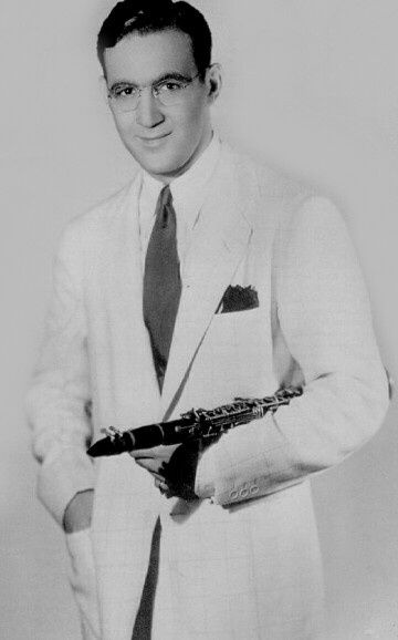 "Benny Goodman - Born May 30th, 1909 in Chicago. Passed on June 13th 1986. Age 77. Benny Goodman was an American jazz  and swing musician, clarinetist and bandleader, known has the ""King of Swing.""In the mid-1930's, Benny Goodman led one of the most popular musical groups in America. January 16,1938 concert at Carnegie Hall in New York City is described as ""the single most important jazz or popular music in history: Jazz coming out party to the world of respectable music."""