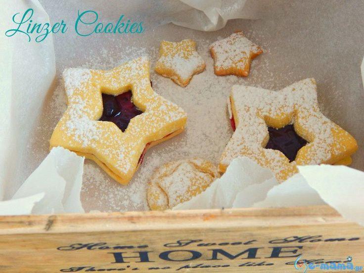 e-mama.gr | Linzer cookies τα μπισκότα βουτύρου από την Πράγα - e-mama.gr