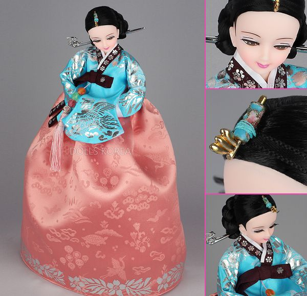 Korean Doll Wearing #Hanbok - 숙빈