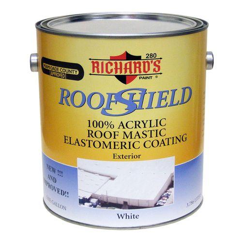 Richard's Roof Shield Elastomeric Roof Coating - WHITE