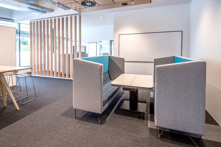Enclosed meeting space featuring the Escape.