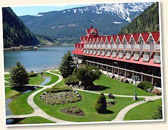 Three Valley Lake Chateau - British Columbia Rocky Mountain Revelstoke BC