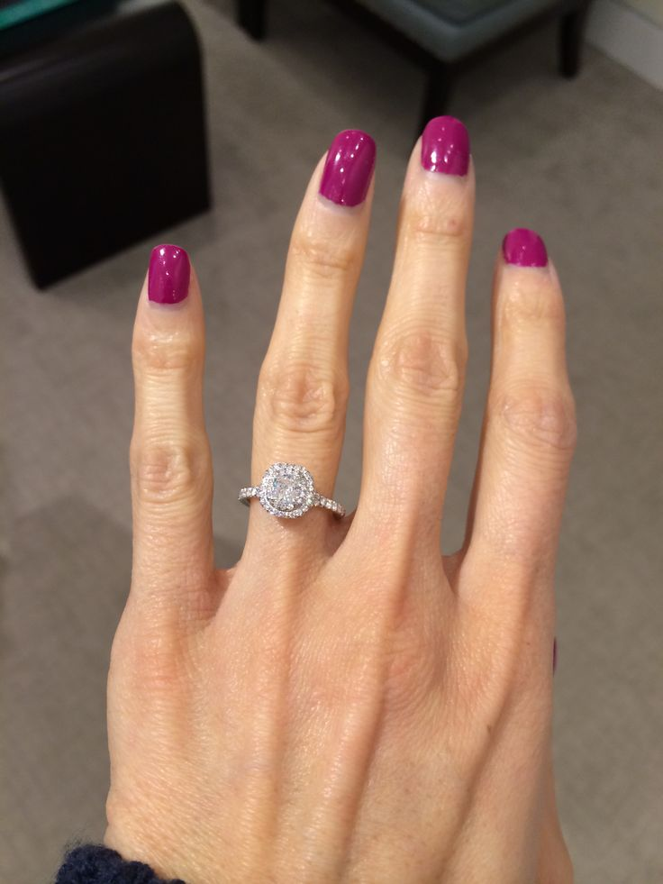 Tiffany Soleste Engagement Ring Our Engagement 12 25 13