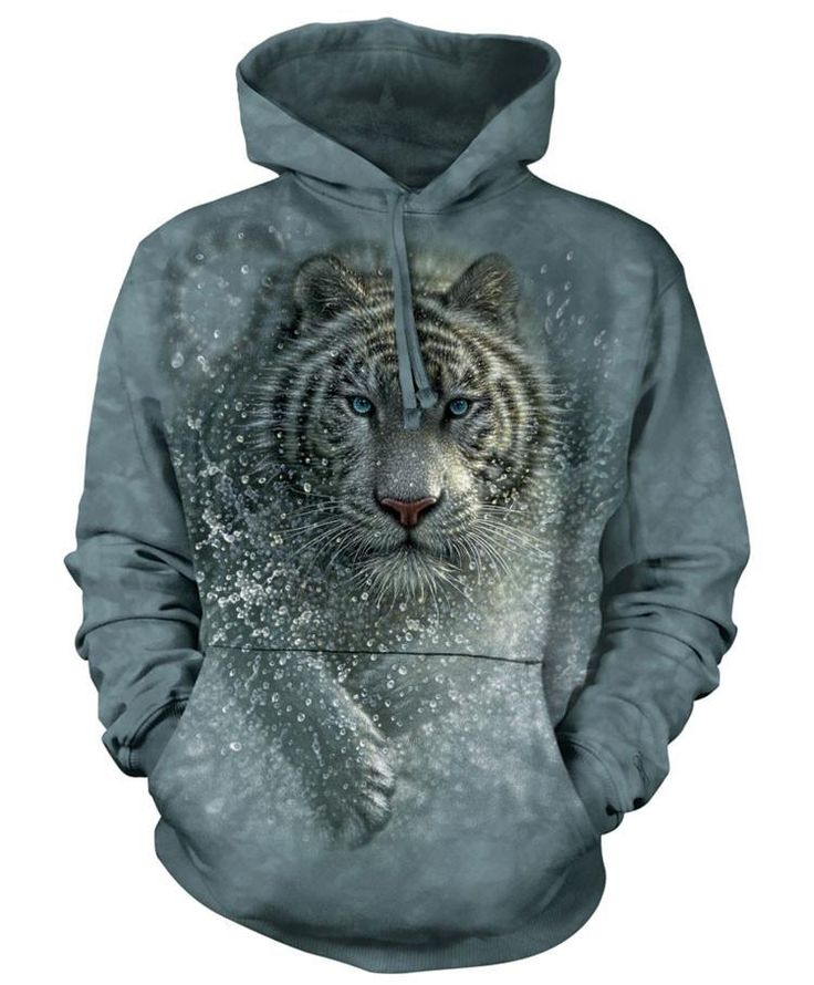 Tiger Hoodie | Wet and Wild XL