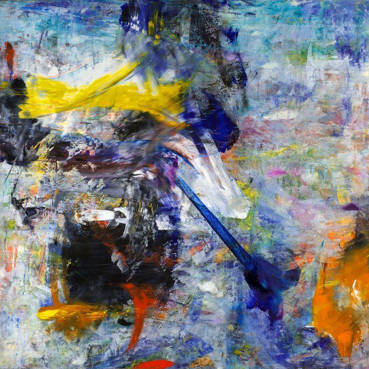 Americano (Oil on wood panel, 66cm x 66cm, Dirk Marwig 2017)