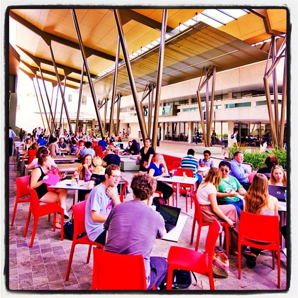 The Heart, Nathan campus, Griffith University, Queensland, Australia Share your memories of friends, food, coffee and studies at #newgriffith