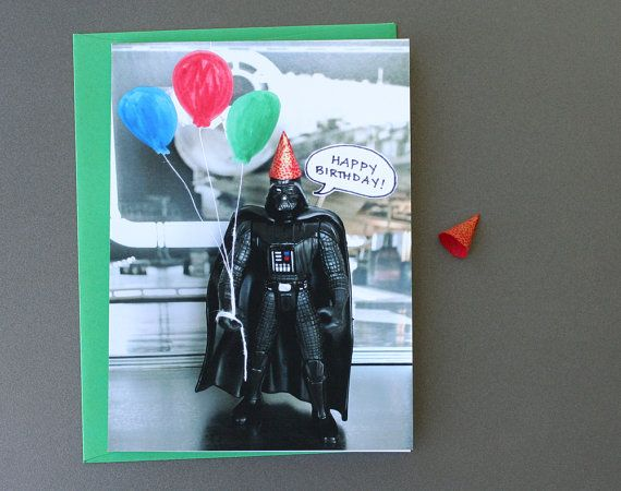 Auguri Matrimonio Star Wars : Star wars card lord vader says happy birthday by