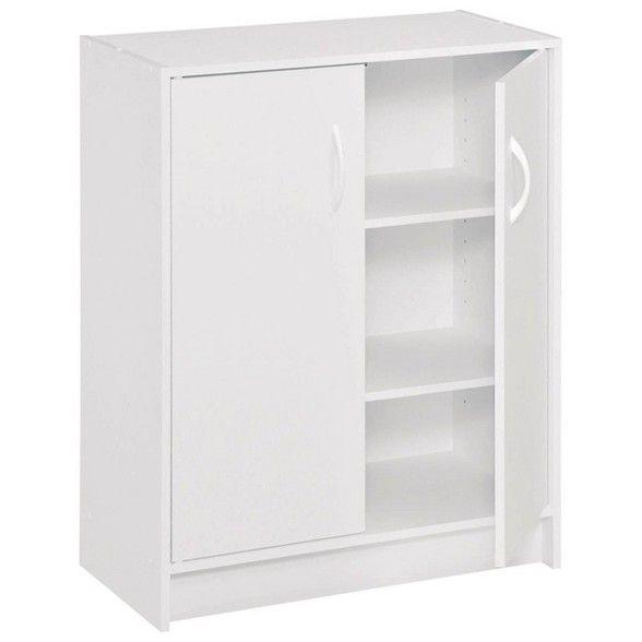 Closetmaid Two Door Storage Cabinet White Closetmaid Shoe Storage Cabinet Storage Cabinet