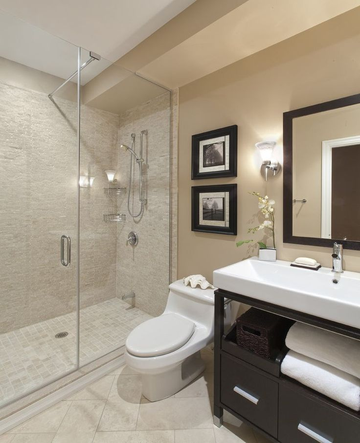 compact toilet, vanity with sink on top and faucet at back by wall -- narrow so wont come out deep into room -- do this if we don't move door out into hallway farther.