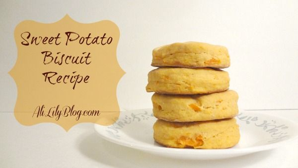 DELICIOUS and easy sweet potato biscuit recipe
