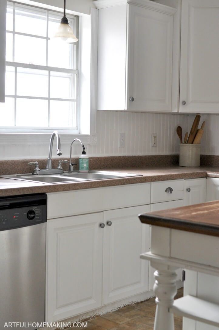 How To Install A Beadboard Kitchen Backsplash Beadboard Kitchen