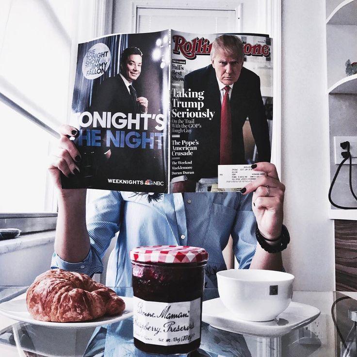 """Juna on Instagram: """"FYI: this Rolling Stone cover was issued in 2015 📰🇺🇸 Как в Америке относятся к иностранцам? Мой и ничей больше опыт 🙋🏻 (показания могут…"""""""