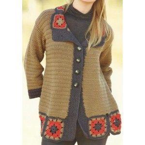 759 best Crochet coats, shrugs, ponchos, vests, coats,... images ...