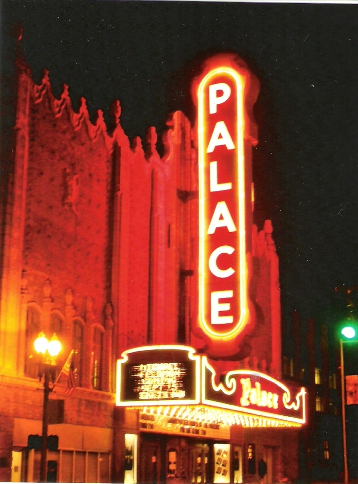 Palace Theater in Canton, Ohio…photo by Stephen Hoskins