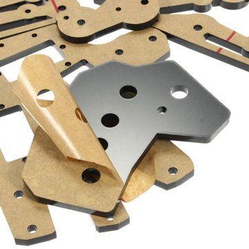 DIY 5DOF Robot Five Fingers Metal Mechanical Paw Left and Right Hand Sale - Banggood.com