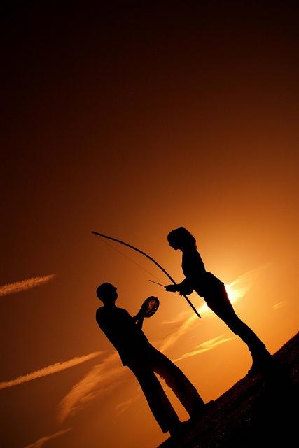 Brazilian Martial Arts-Capoeira Cabeludo & Margarida playing music by Photofabs, via Flickr