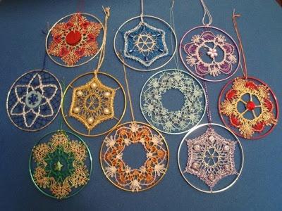 Manualidades por mi: Encaje de bolillos - Bobbin lace