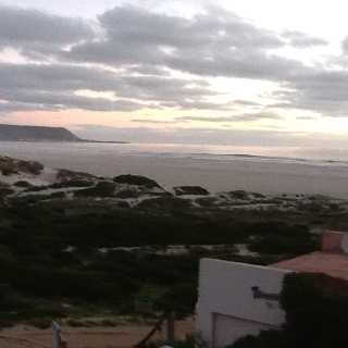 Sunset at Noordhoek Beach,South Africa---May, 2012