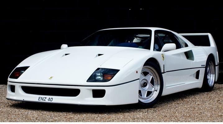 Ferrari F40 White Dress.   Vintage Toys   Ferrari, Ferrari ...