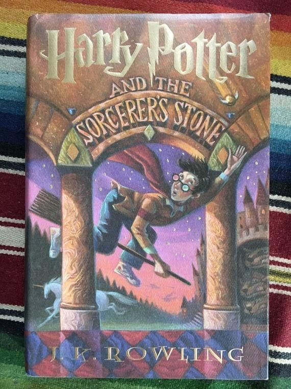 Harry Potter And The Sorcerer S Stone First Edition Later Printing