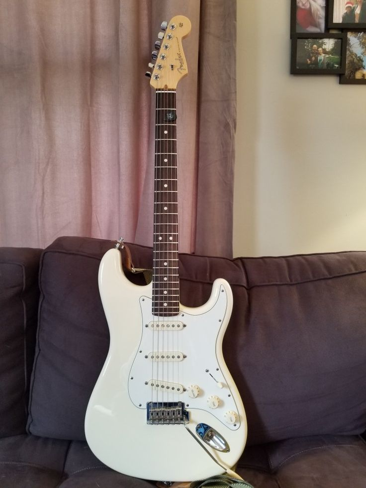 2012 American Standard Stratocaster Olympic White
