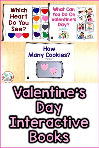 Improve receptive and expressive language while incorporating Valentine's Day!! These interactive books keep my students' attention better than any other book. The adapted books are perfect for special education classrooms, speech therapy, Pre-K and kindergarten. My students with autism especially love them!!