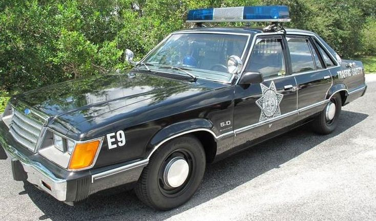 Four Door Mustang: 1984 Ford LTD 5.0 Cop Car - http://barnfinds.com/four-door-mustang-1984-ford-ltd-5-0-cop-car/
