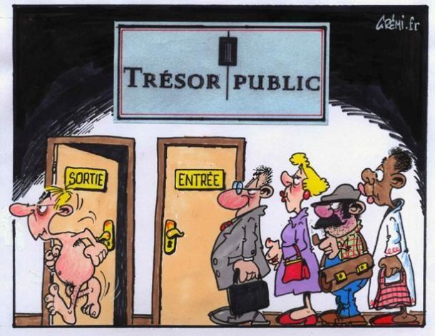 Tr�sor public