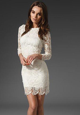 Modelos de vestidos de renda para noivas