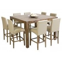 SILVERWOOD 9pce Bar Table Dinning Suite $1299.95  SUPER AMART